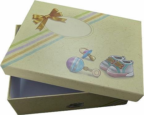 Caja de recuerdos para todos las Bellas recuerdos de bebé de bebés Primer Año. Gran Baby Caja/caja para el bebé Abalorios y el regalo ideal para nacimiento de bebé de ...