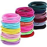 200 pcs Hair Ties for Toddlers Multicolour Tiny Baby Girls Hair Ties No Crease Hair Bands Bulk Elastics Ponytail Holders,2mm