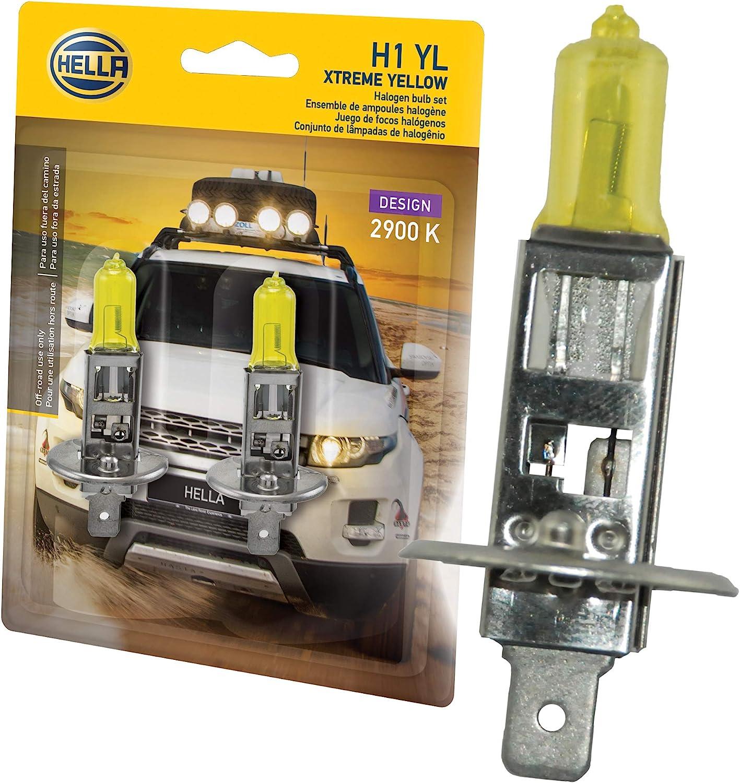 Hella H1 Yl Xtreme Gelbe Leuchtmittel 12 V 55 W Auto