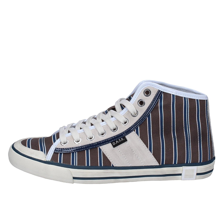 D.A.T.E. (DATE) scarpe da ginnastica Donna Tessuto Marrone