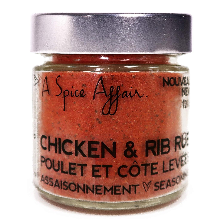 Chicken & Rib Rub A Spice Affair. 120g (4.2 oz) Jar