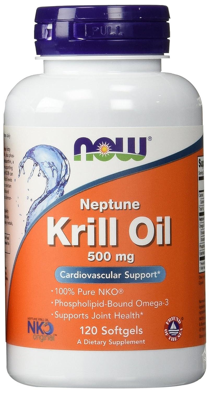 NOW Neptune Krill Oil Softgels Image 3