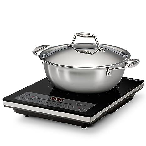 Amazon.com: Tramontina juego de cocina de inducción ...