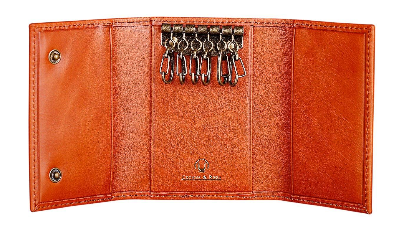 Cronus   Rhea®   Porte-clés de luxe en cuir exclusif (Janus) 57ee2b36d39