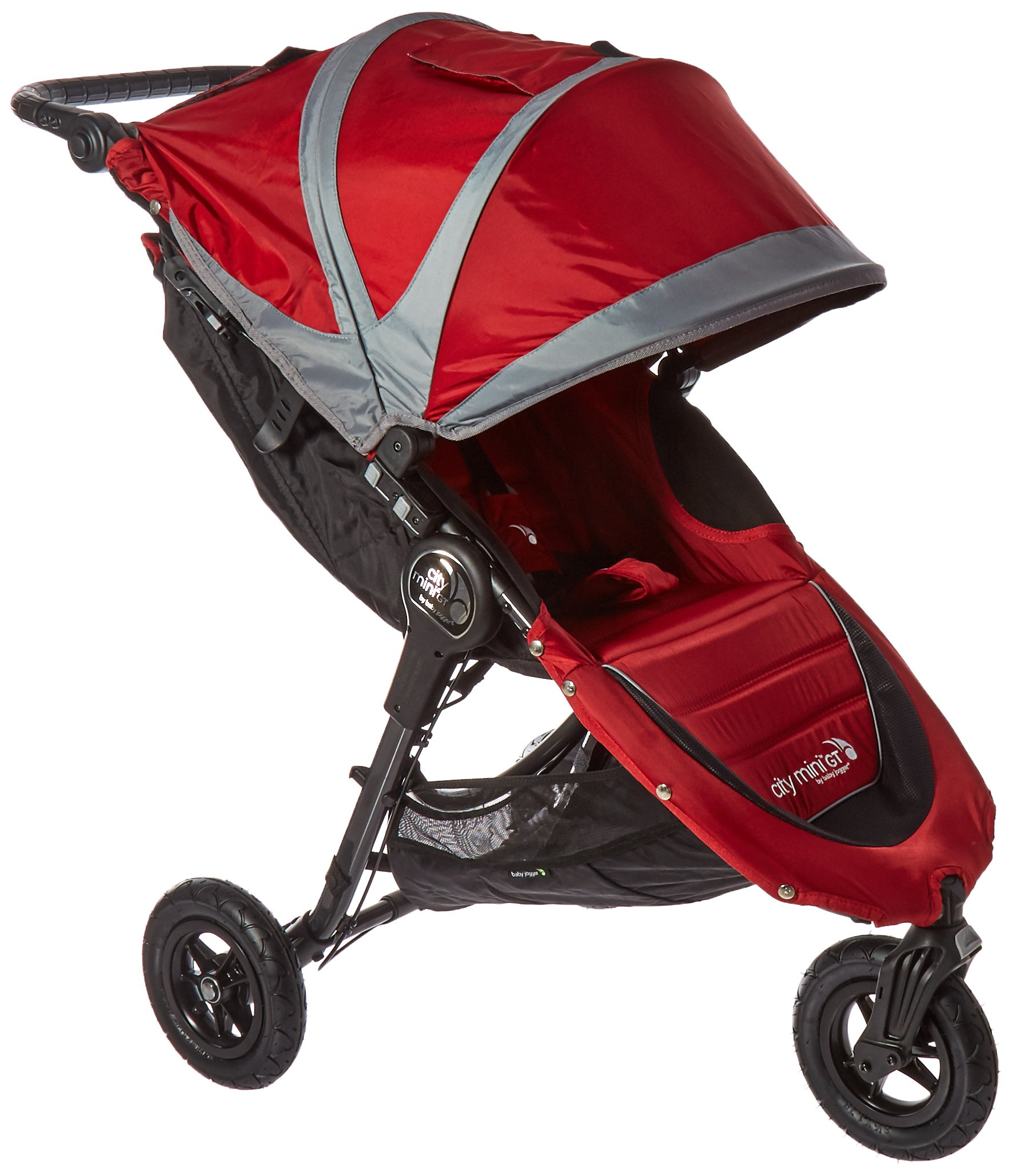 Amazon Com Baby Jogger Deluxe Pram Red Baby