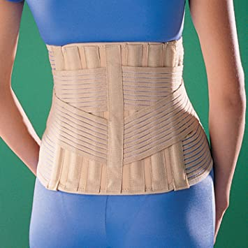 46edfeac094 Image Unavailable. Image not available for. Color  Oppo Medical Elastic  Sacro Lumbar Back Support ...