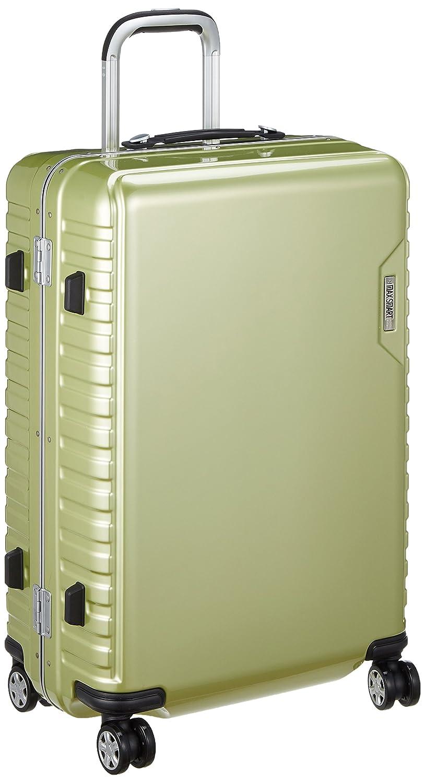 [アジアラゲージ㈱] ハードキャリー MAX SMART(マックススマート) 手荷物預け可能サイズ 56L ダイヤル式ロック 静音キャスター 56L 64cm 4.3kg MS-205-25 B07B2RLFSD ライム ライム