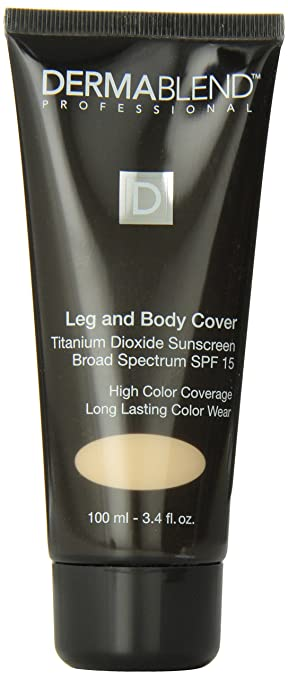 Dermablend Leg And Body Cover Up With Spf 15 Natural Amazon