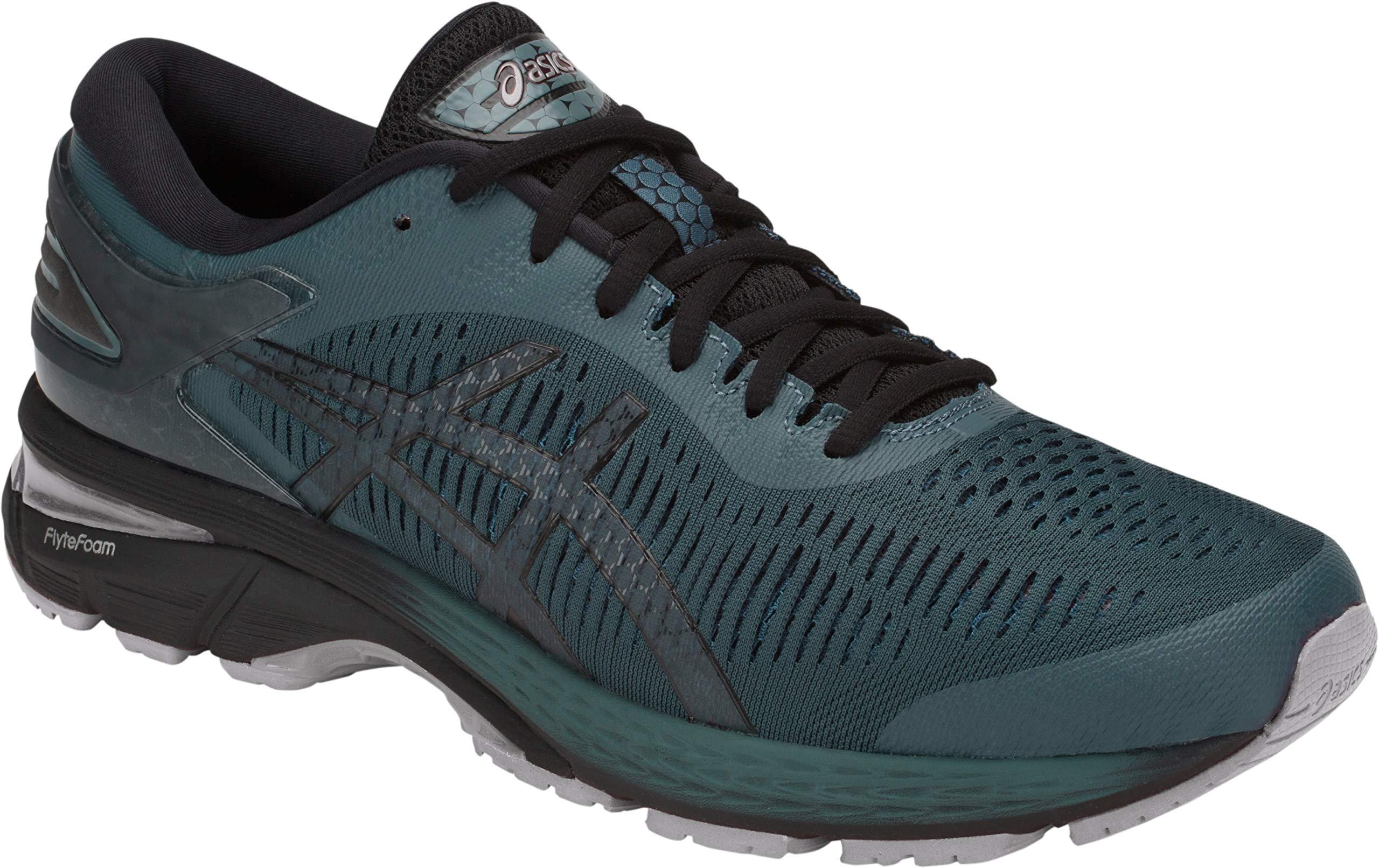 ASICS Men's Gel-Kayano 25 Running Shoe, Iron Clad/Black, 7 D(M) US by ASICS (Image #2)