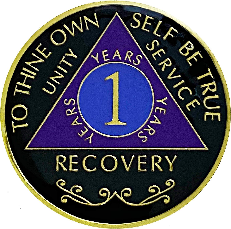 3 Year Anniversary Triplated Medallion Token AA