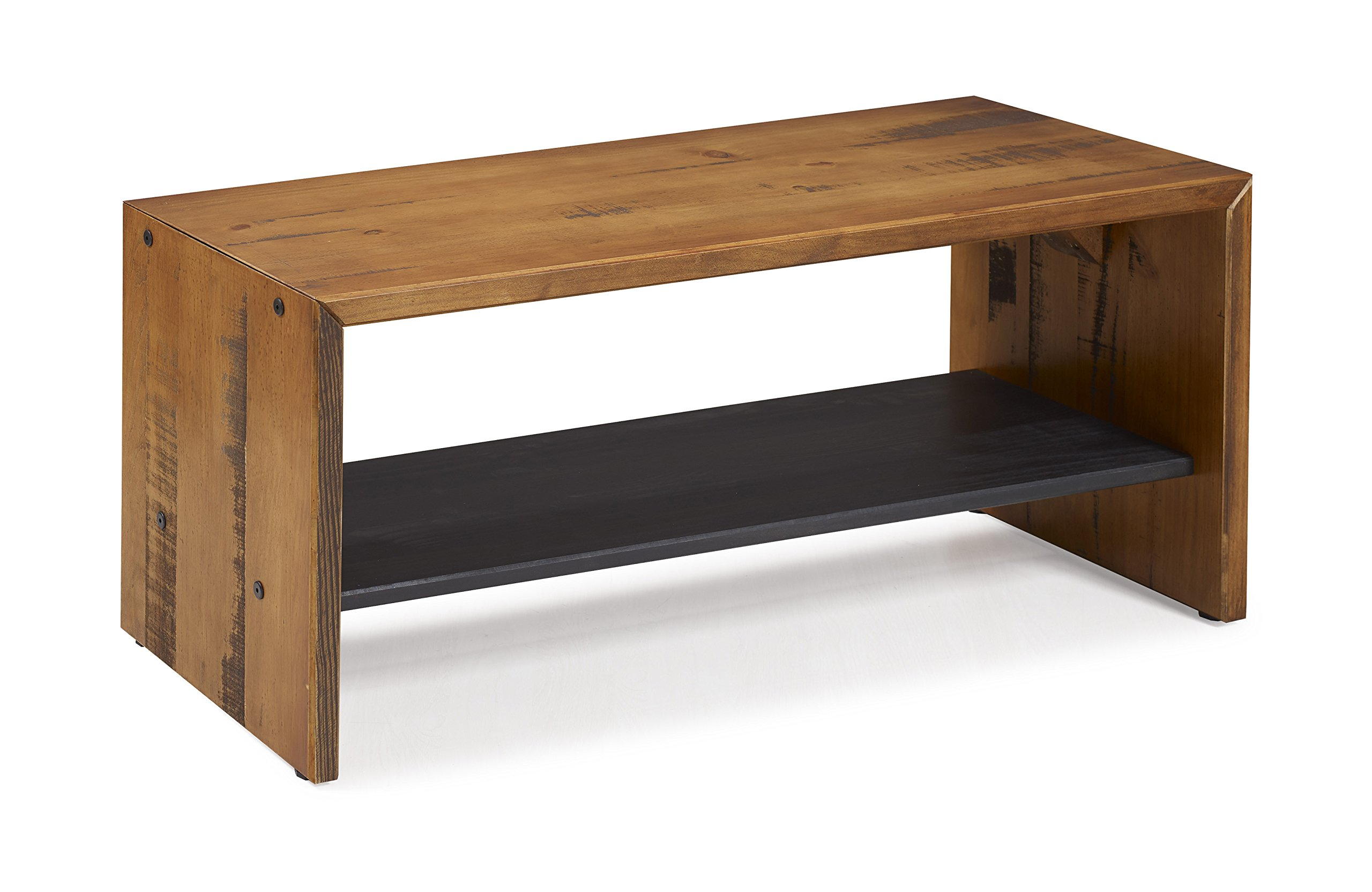 WE Furniture Reclaimed Wood Entry Bench in Amber - 42'' by WE Furniture (Image #2)