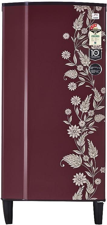 Godrej 185 L 3 Star Direct Cool Single Door Refrigerator RD 1823 PT 3.2 DRM SCR, Scarlet Dremin  Refrigerators