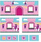 Dorel Home Products Curtain Set for Junior Loft Bed, Princess Castle