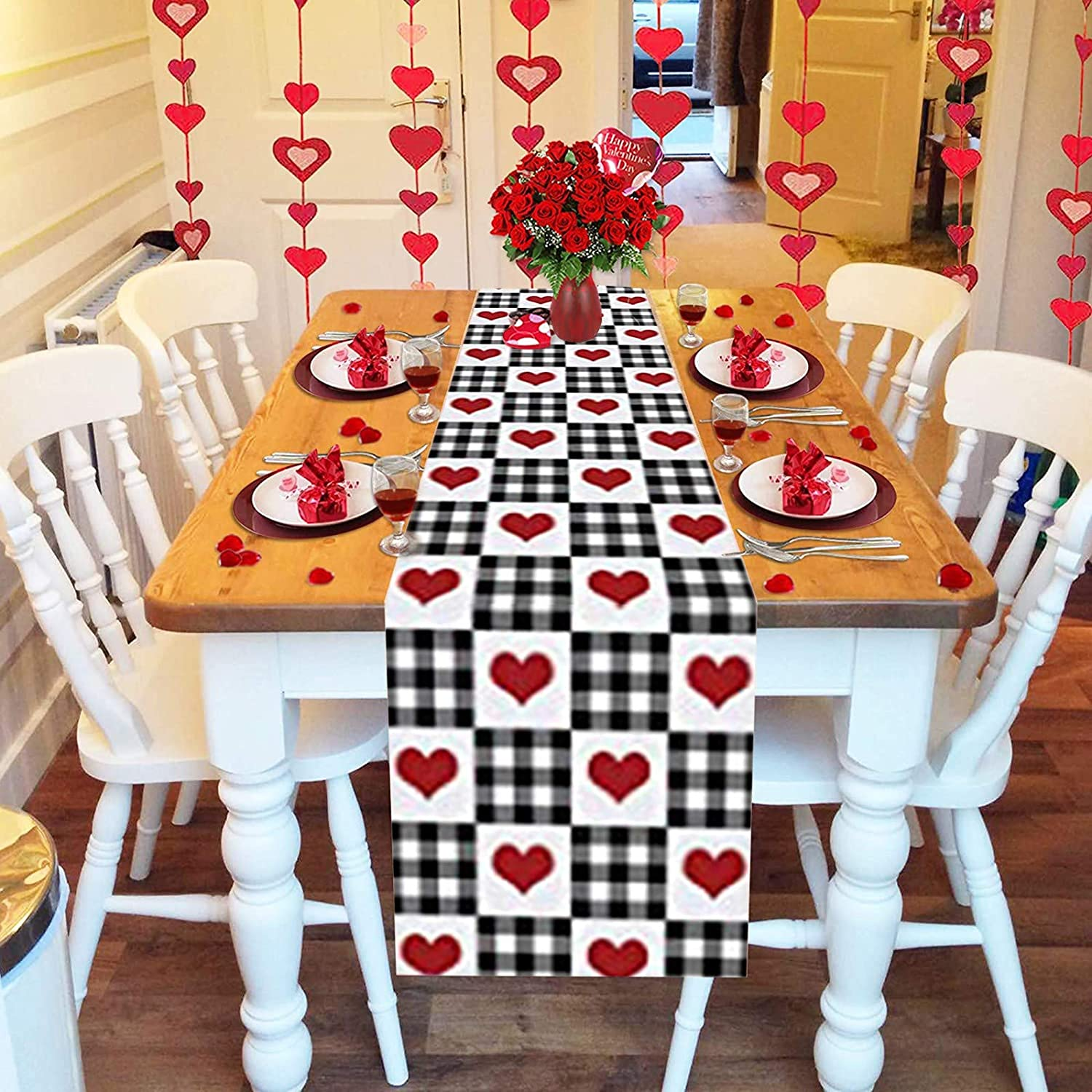 Heart Table Runners