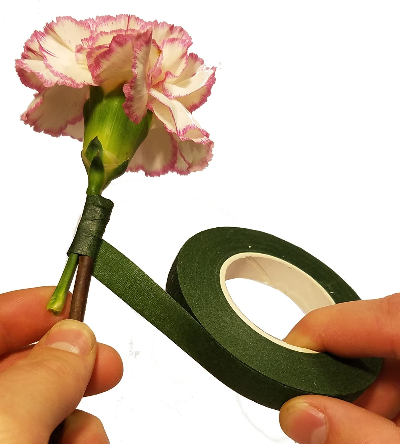 0.5 Inch Wide by 30 Yard for Bouquet Stem Wrap Florist Tapes Flowers Making Tapes Carnatory 15 Rolls Floral Tapes Floral Adhesives with 15 Colors Floral Arrangement and Crafts- 360 Yards Total Floral Tape Create Beautiful Bouquets