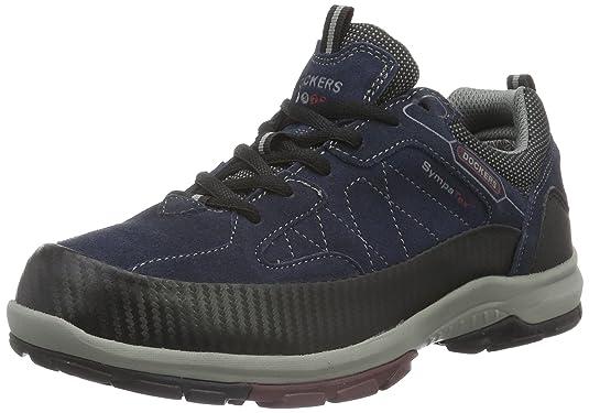 Dockers by Gerli 39FA002-210670, Zapatillas de Senderismo para Mujer, Azul, 43 EU