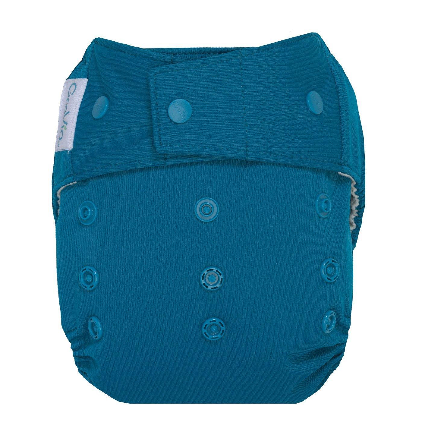 GroVia Hybrid Cloth Diaper Shell, Snap Shell (Abalone)