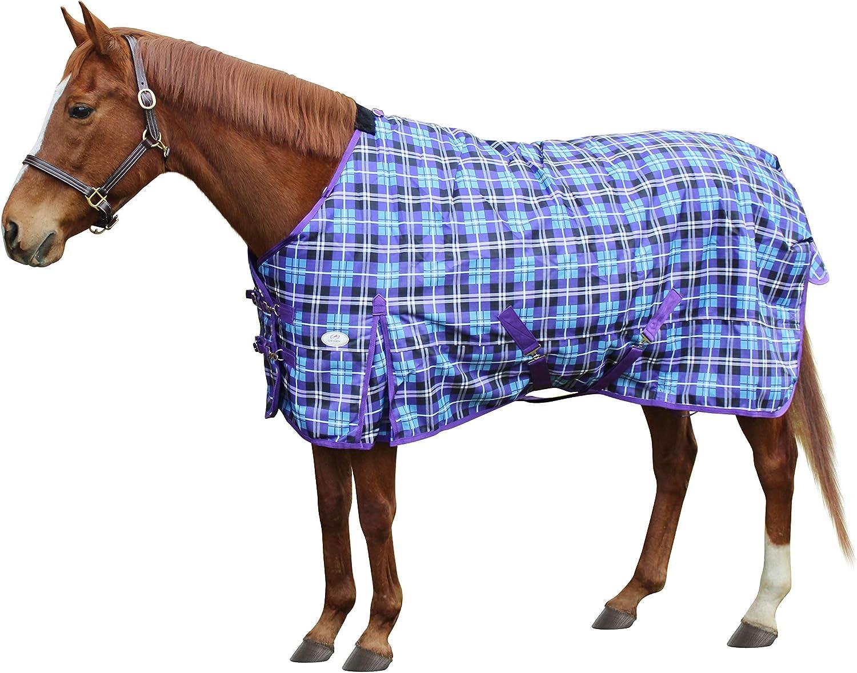 1200D Horse Turnout Waterproof Heavy Weight Winter Blanket 5EE15B