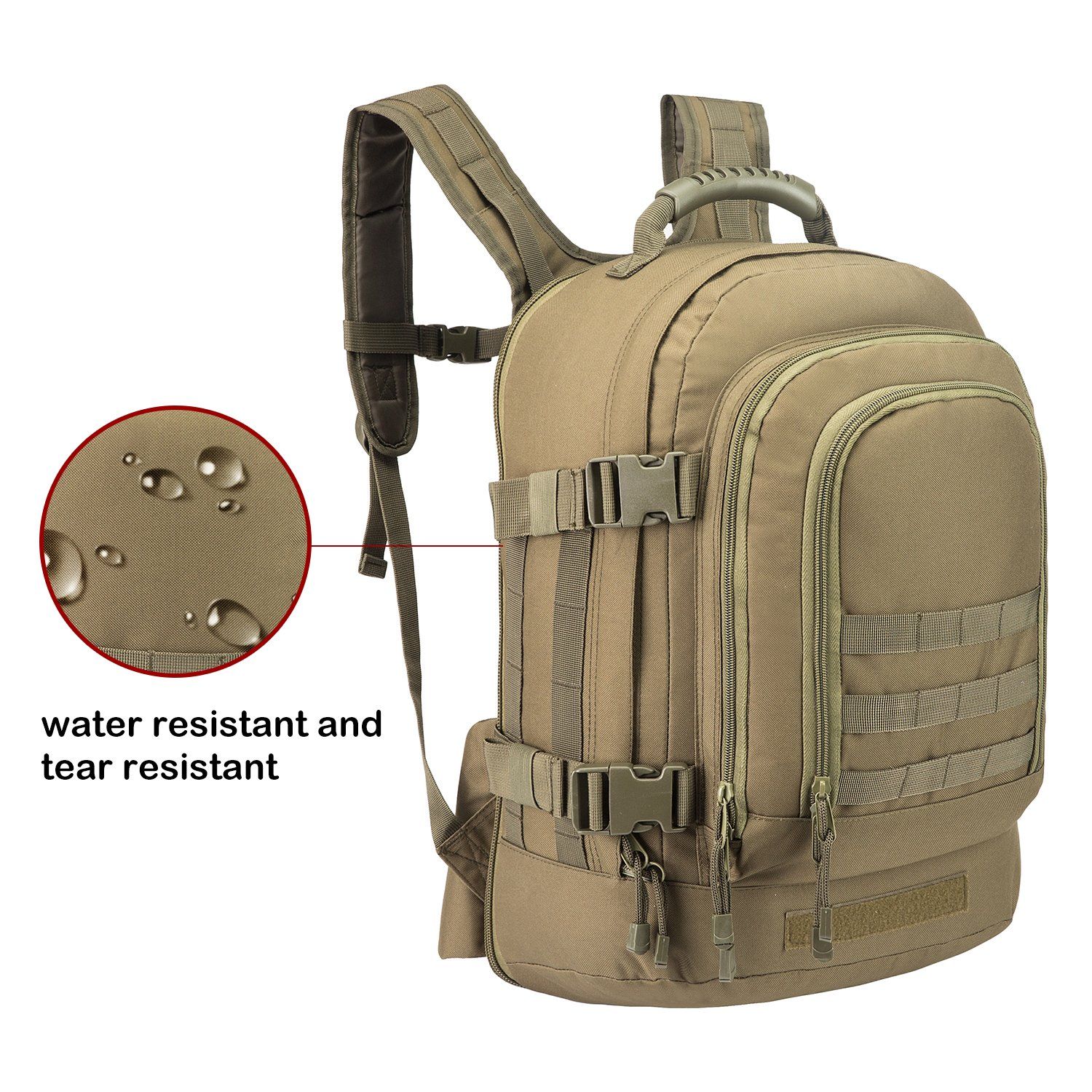 Amazon.com  PANS Military Outdoor Backpack 23b7e1d6b7a