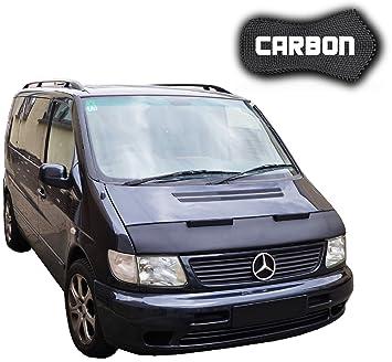 haubenbra Mercedes Benz Vito Carbon Auto Máscara Bra para piedra Impacto Tuning Car Bra Top calidad: Amazon.es: Coche y moto