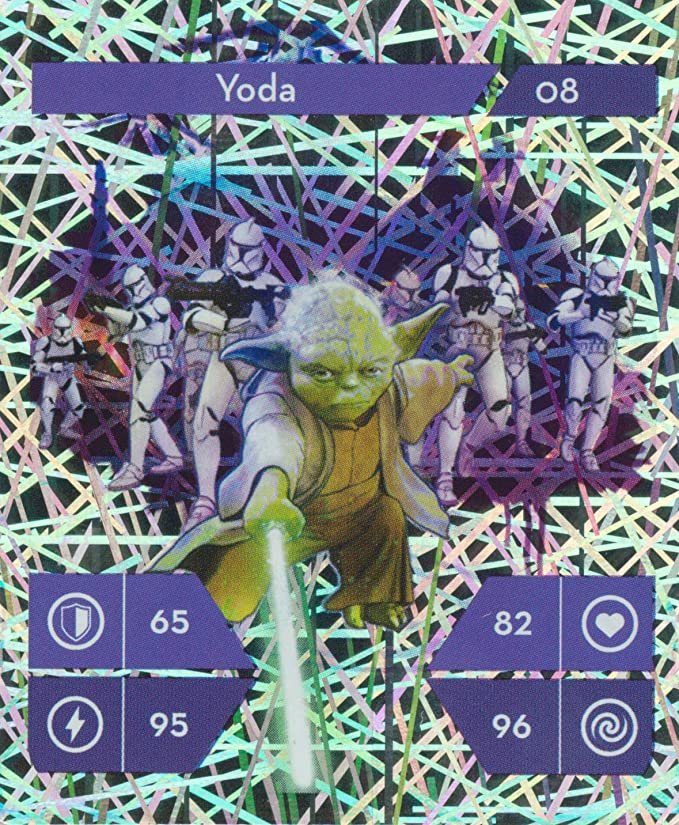 Starwars 48 Trading Cards 2019 Scrapbook Star Wars Kaufand Collectible Action The Complete Saga The Ascent Skywalkers