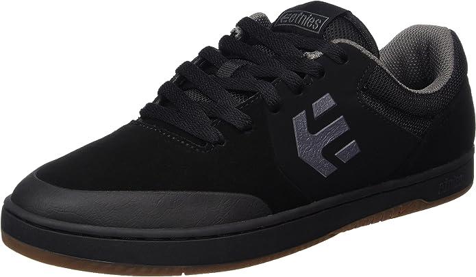 Etnies Marana Sneakers Skateboardschuhe Damen Herren Unisex Schwarz/Grau/Gummi
