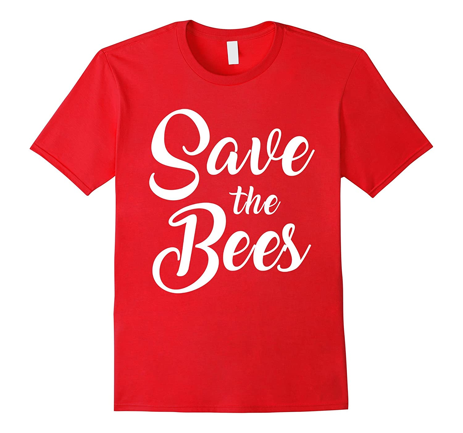 Bees T-shirt , Womens Save the Bees Shirt-Art