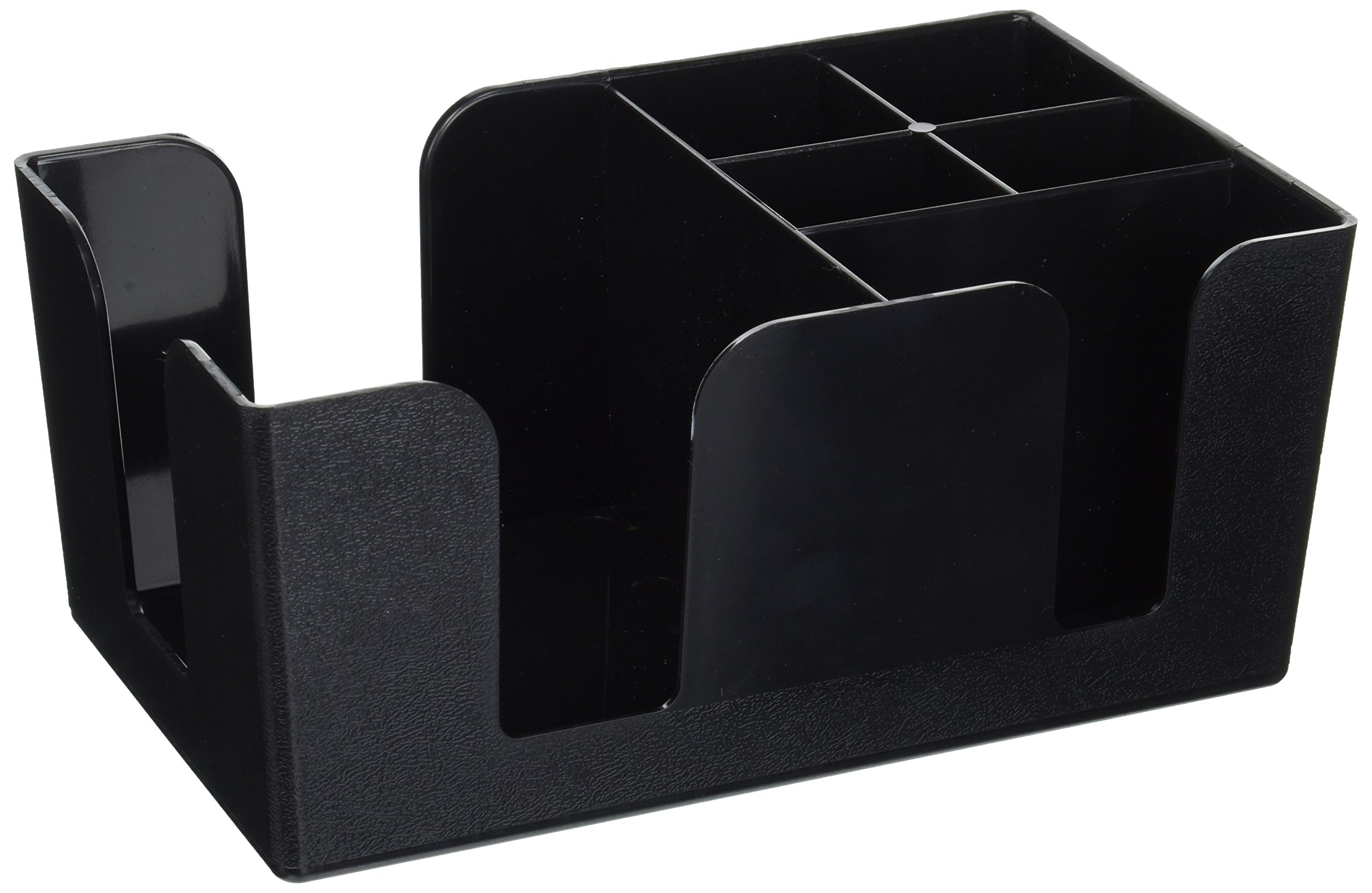 Black FREE SHIPPING NEW Co-Rect Plastic Bar Caddy with Triangular Design