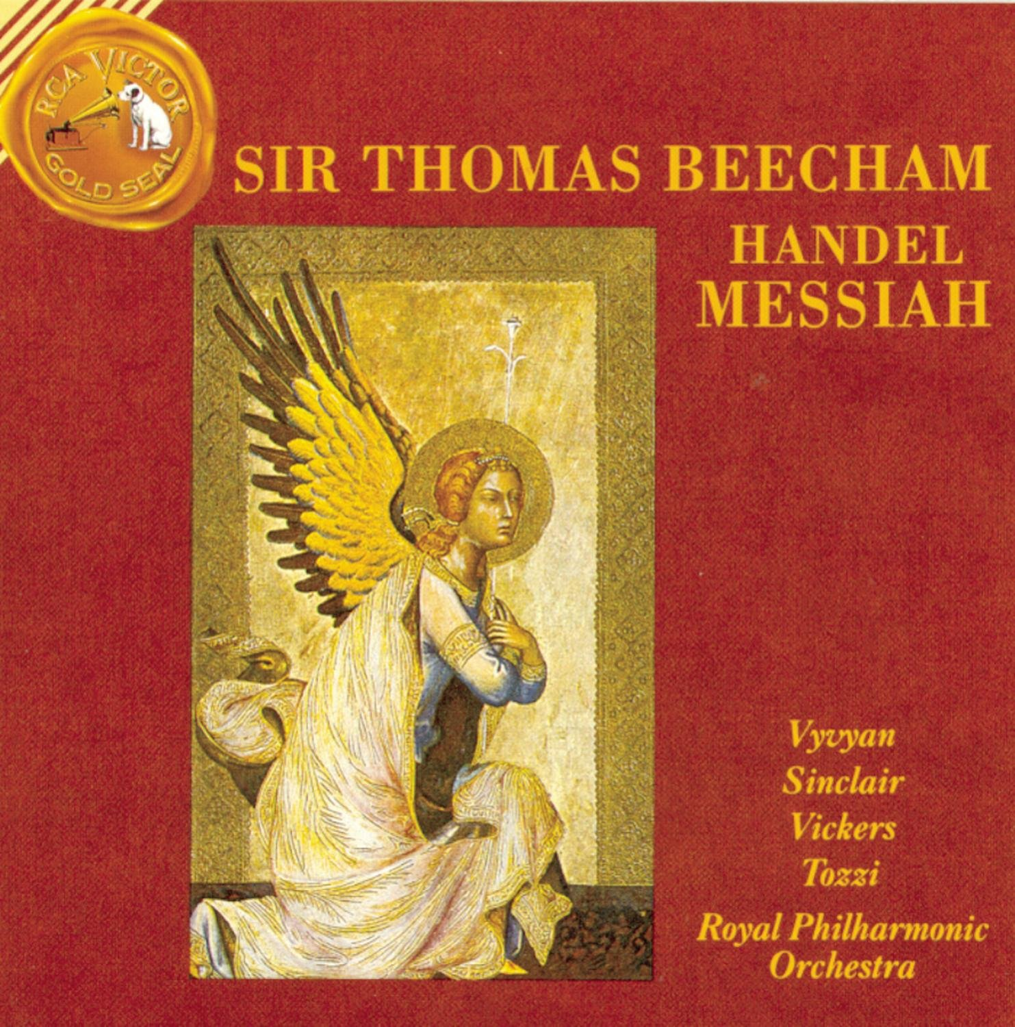 Handel - Messiah / Vyvyan · Sinclair · Vickers · Tozzi · Royal PO · Beecham by HANDEL,G.F.