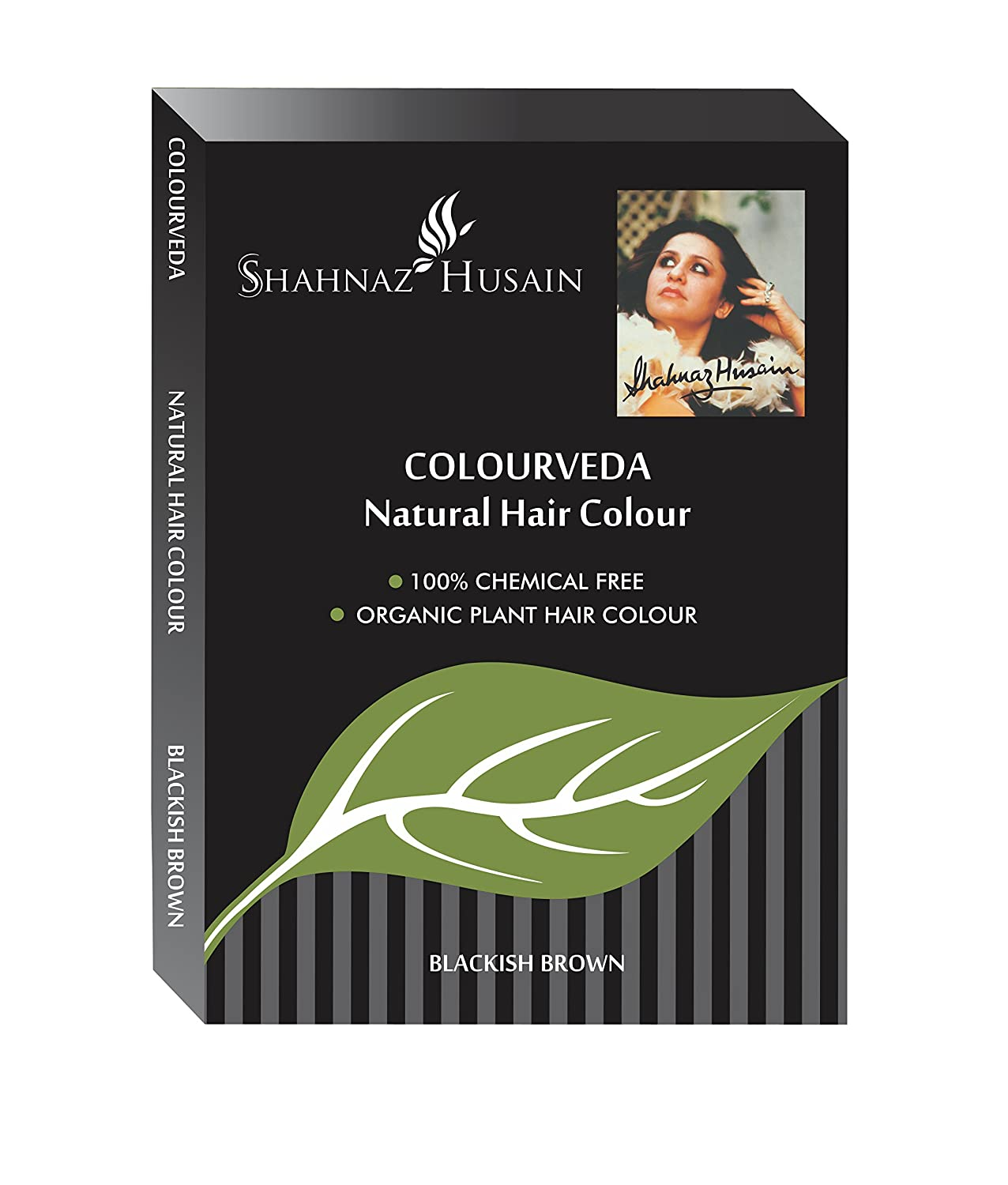 Amazon.com : Shahnaz Husain Colourveda Herbal Ayurvedic Natural Hair Color Latest International Packaging (3.5 oz / 100 g) : Beauty