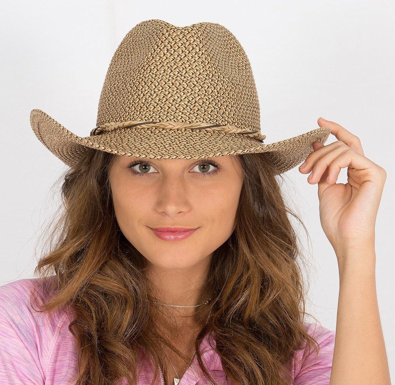 Rigon Headwear Womens Byron Uv Cowboy Hat
