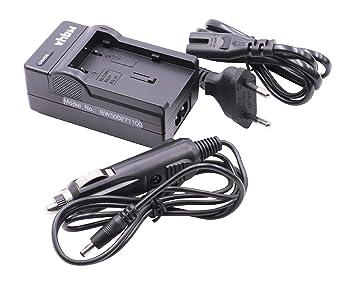 Cargador con Cargador para Coche incluído para BATERÍA Canon NB-2L / NB-2LH / NB-2L18 / BP-2L5 / BP-2L12 / BP-2L13 / BP-2L14 / BP-2L18