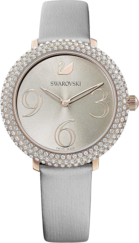 Swarovski Reloj Crystal Frost, revestimiento PVD en tono oro rosa, para mujer
