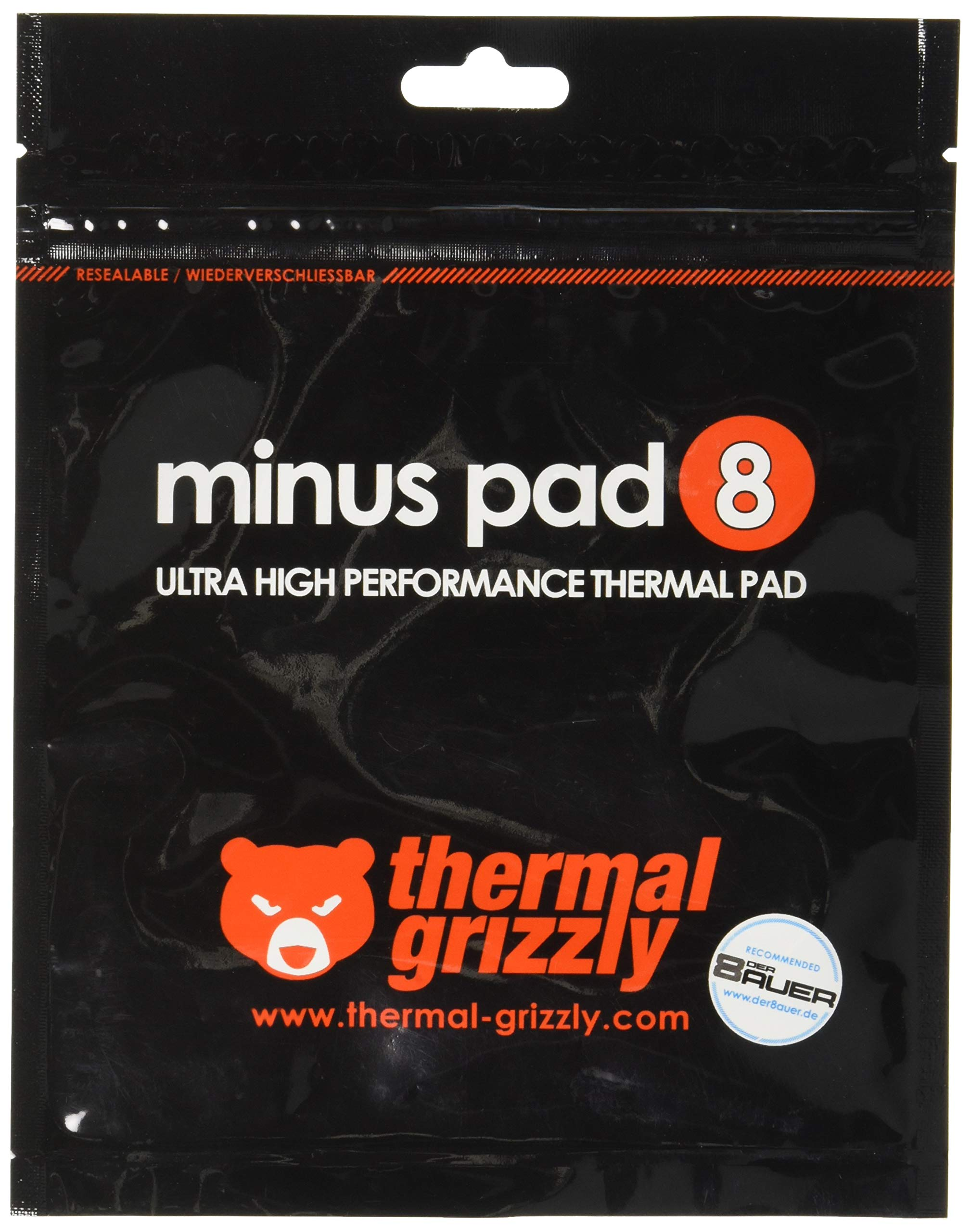Thermal Grizzly Thermal Pad Minus Pad 8 120 X 20 X 1  (Kit of 2)