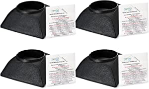SenSci Bed Bug Detection Kit and Bed Bug Trap - 4 Pack - Volcano Bed Bug Monitor and Activ Bed Bug Lure