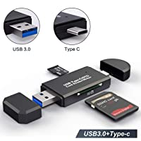 Cococka 2-in-1 USB 3.0 SD / microSD Card Reader and UHS-I Cards