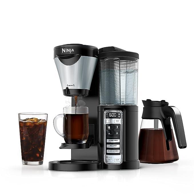 Euro-pro CF021 Ninja café Brewer eléctrica, color negro ...