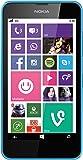 Nokia Lumia 630 Single-SIM Smartphone (4,5 Zoll (11,4 cm) Touch-Display, 8 GB Speicher, Windows 8.1) cyan
