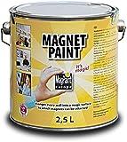 First4magnets KC-MAG0003-1 MagPaint Peinture magnétique 2,5 L