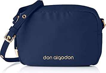 Don algodón Urban, Bolso bandolera mujer, Azul Marino: Amazon.es ...