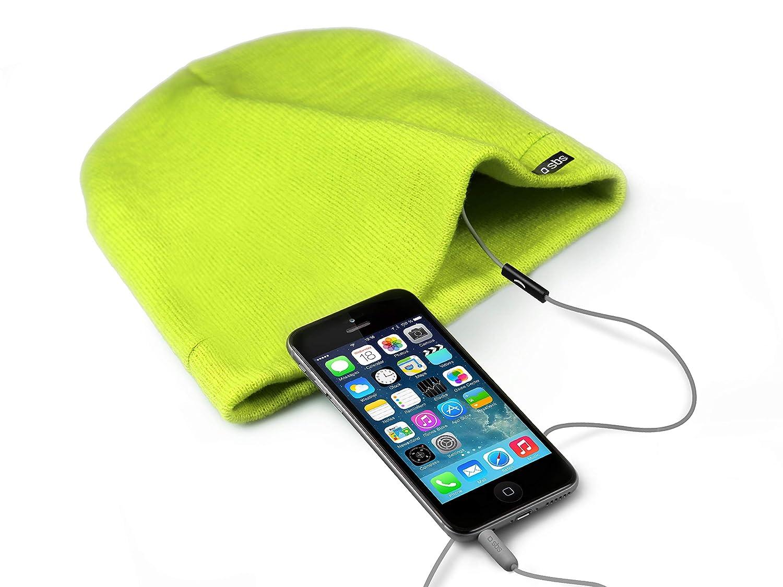 SBS Mobile Caps de invierno con Headphone (3,5 mm, Microphone ...