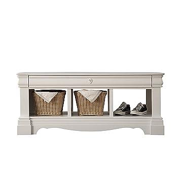 Remarkable Amazon Com Acme Furniture Estrella 39160 Bench With Storage Short Links Chair Design For Home Short Linksinfo