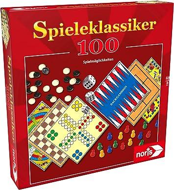 Noris 606111686 - Juego de Mesa clásico (100 Jugadores): Amazon.es: Juguetes y juegos