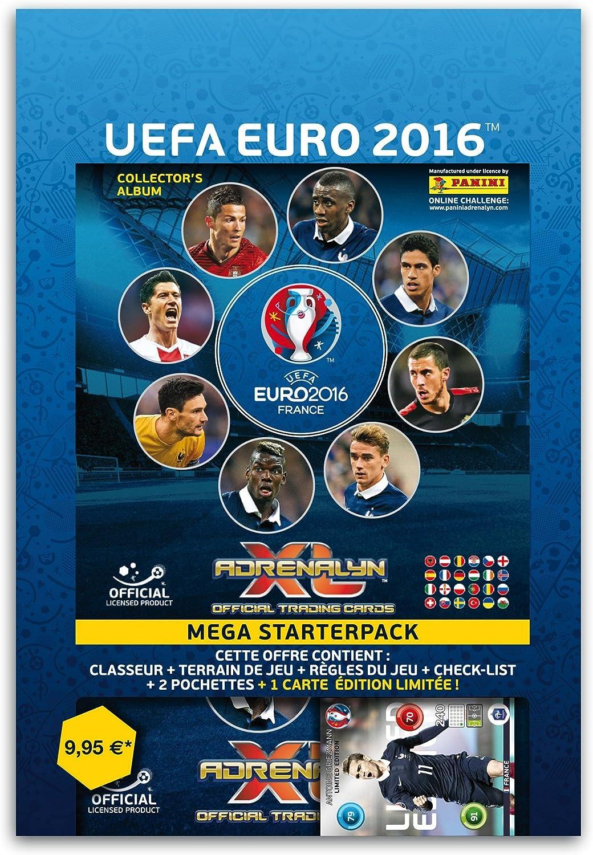 Adrenalyn XL euro16asp Panini Euro 2016 cartón álbum Starter Pack con 18 Tarjetas de Libre y Tarjeta de edición Limitada: Amazon.es: Juguetes y juegos