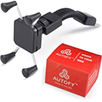 Autofy BAHOLDER0005 HOLDER0005 Universal Square Shaped Rotating Mobile Holder (Black)