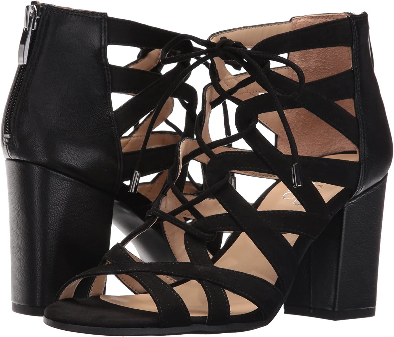 Franco Sarto Womens Meena Heeled Sandal