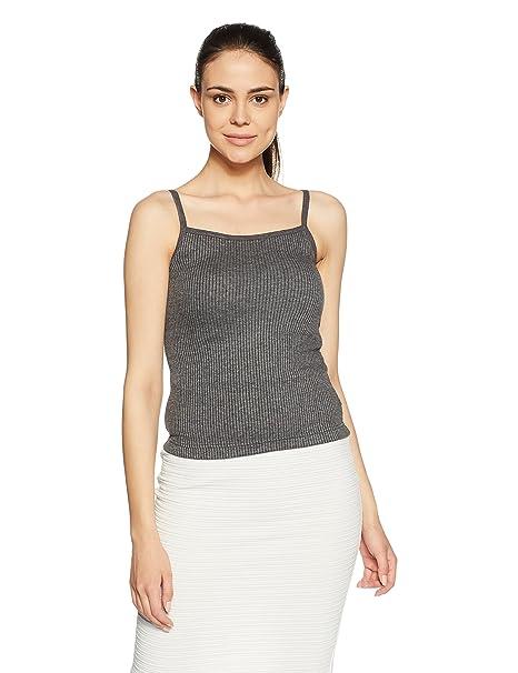 3ea8a6d82d1c84 Hanes Women s Plain Cotton Thermal Top (T150-031-PL Anthra Small)