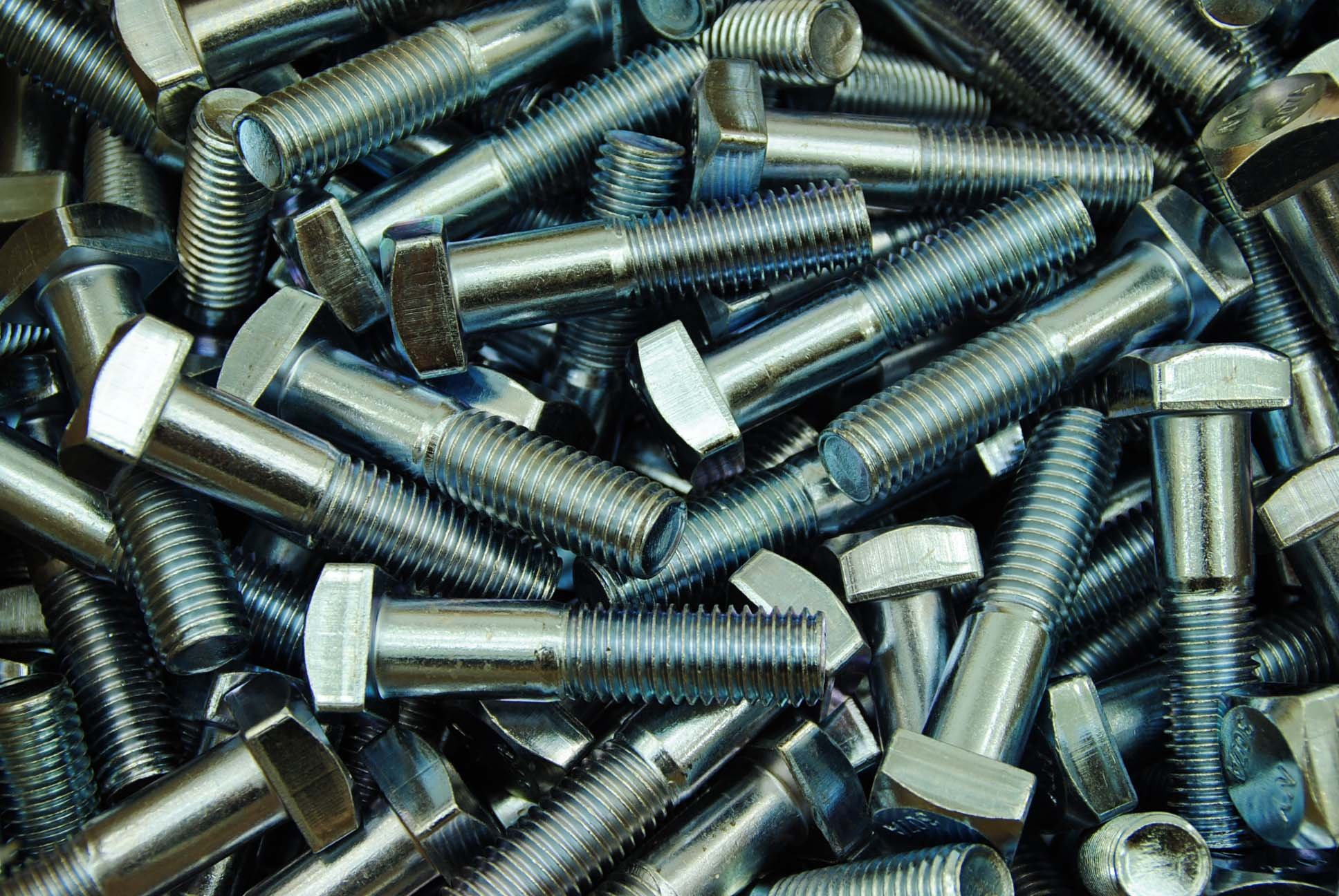 (20) Square Head 5/8-11 x 2-3/4'' Zinc Plated Bolts A307 15/16'' Sq by Lexar Industrial