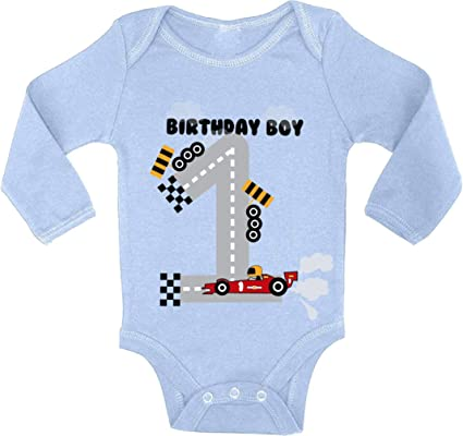 Red and Blue Vintage Truck One 1st Birthday Outfit for Boys Shirt or Bodysuit Smash Cake
