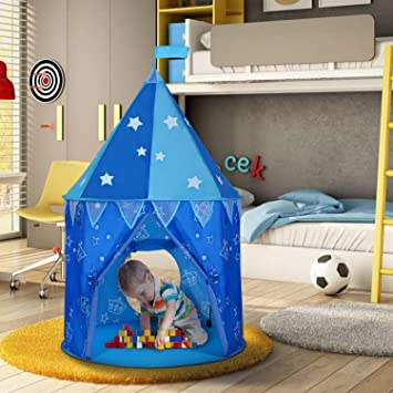 Wolfwise Upgraded Prince Castle Play Tent Boys Outdoor Tent Indoor Play House & Amazon.com: Wolfwise Upgraded Prince Castle Play Tent Boys Outdoor ...